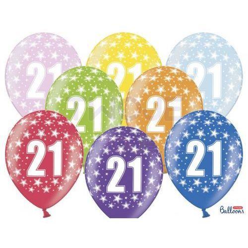Twojestroje.pl Balon [21st] birthday 30cm 1szt (5901157491909)