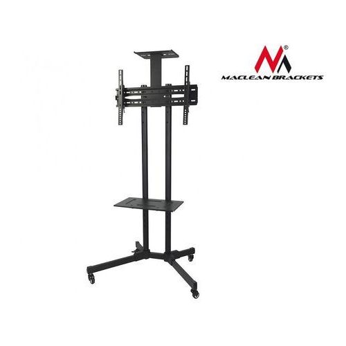 profesjonalny stand wózek do telewizora na kółkach maclean mc-661 max 55kg max 600x400 marki Maclean