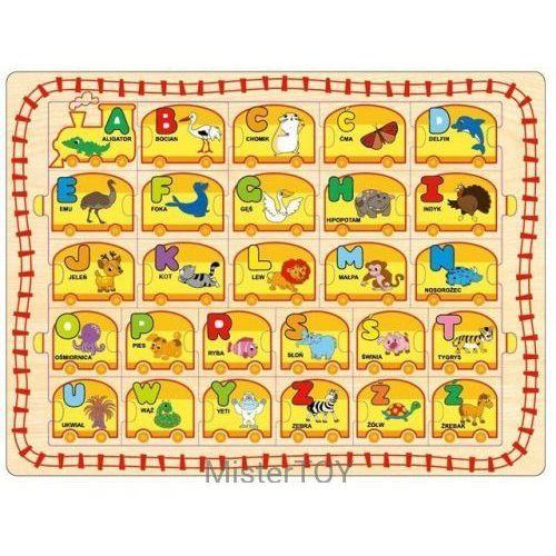 Playme Układanka drewniana alfabet (5907791574503)