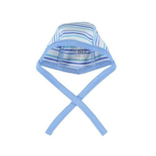 Fixoni boys czapka dla noworodka kolor niebieski paski (5706453258900)