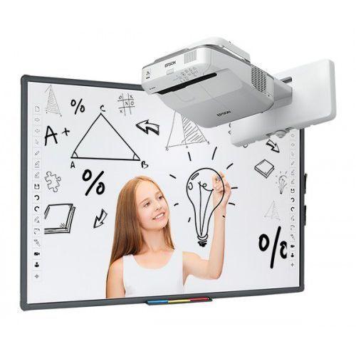 Tablica interaktywna Avtek TT-BOARD 80 z projektorem ultrakrótkoogniskowym Epson EB-670, 336D-192F8