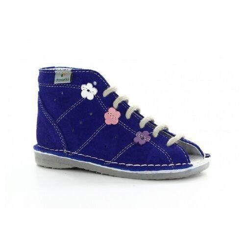 Buty profilaktyczne wzór s22 fiolet marki Danielki