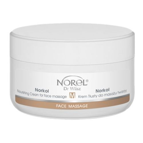 Norel (Dr Wilsz) NORKOL NOURISHING CREAM FOR FACE MASSAGE Krem tłusty do masażu twarzy (PK024)
