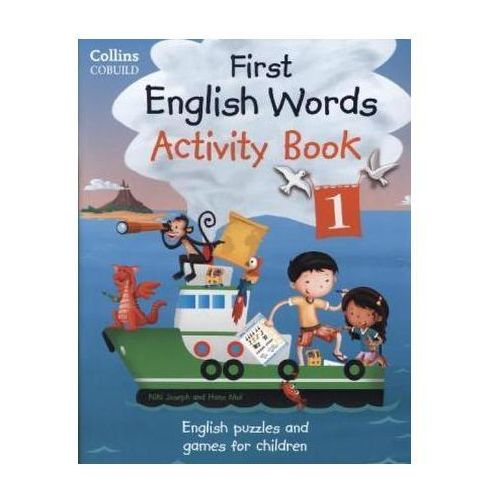 First English Words. Activity Book 1, oprawa miękka