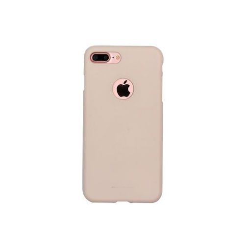 Apple iPhone 7 Plus - etui na telefon Mercury Goospery Soft Feeling - piaskowy róż, kolor różowy