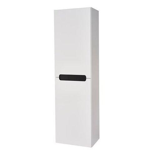 Słupek wysoki milano 40 x 134 x 30 cm biały marki Deftrans