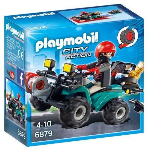 Playmobil Przestępca z quadem 6879