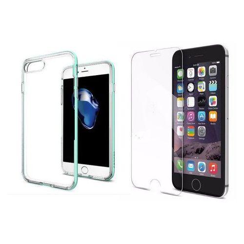 Zestaw | spigen sgp neo hybrid crystal mint | obudowa + szkło ochronne perfect glass dla modelu apple iphone 7 plus marki Sgp - spigen / perfect glass