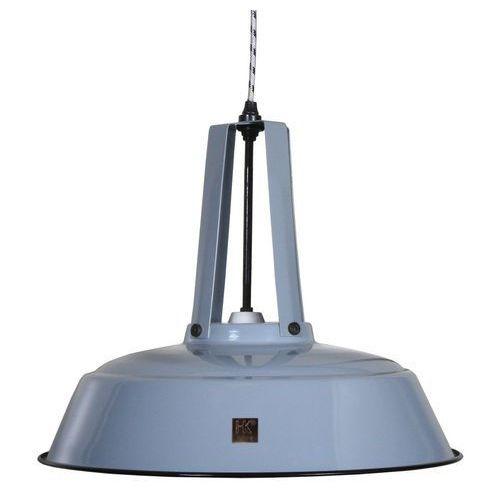 :: przemysłowa lampa workshop szara, rozm. l marki Hk living