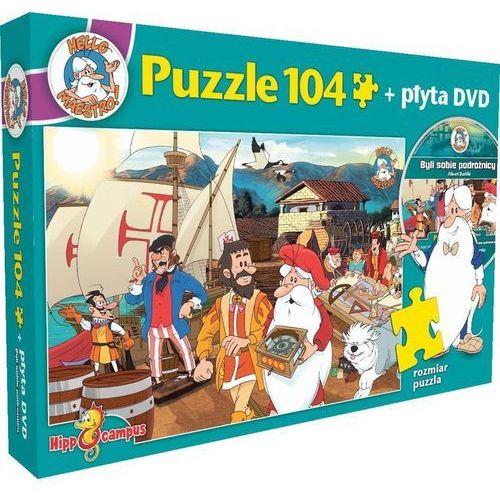 Byli sobie podróżnicy - puzzle+DVD (5908259811932)