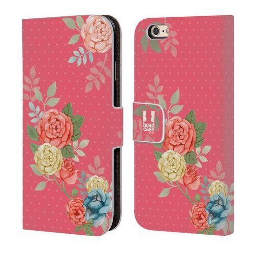 Etui portfel na telefon - Nostalgic Rose Patterns BLOOMS IN PINK