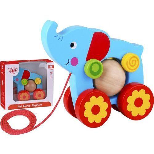 Słoń z kulką do ciągnięcia, GXP-653341