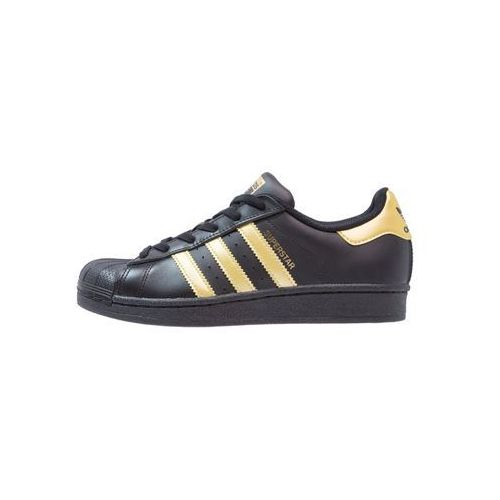 adidas Originals SUPERSTAR Tenisówki i Trampki core black/gold metallic