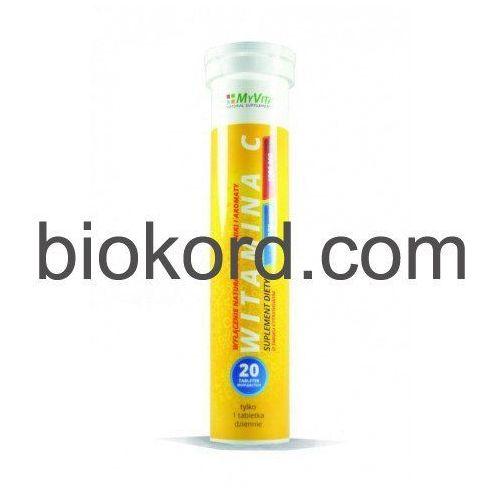Witamina C 1000mg, Myvita, 20 Tabletek Musujących