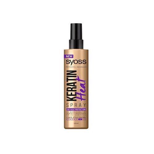 Syoss Keratin spray ochronny do ochrony włosów przed wysoką temperaturą (230° Heat Protection) 200 ml