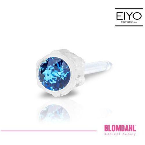 Kolczyk do przekłuwania uszu - sapphire 4 mm marki Blomdahl