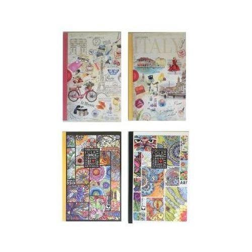 Notatnik ozdobny a4 80 kartek w linie marki Fresh