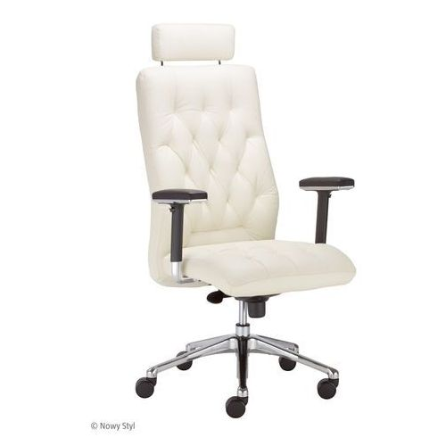 Fotel gabinetowy chester hru r23p2 steel28 chrome marki Nowy styl