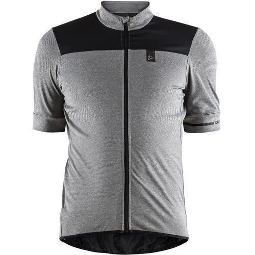 point koszulka kolarska, krótki rękaw mężczyźni szary s 2018 koszulki kolarskie marki Craft