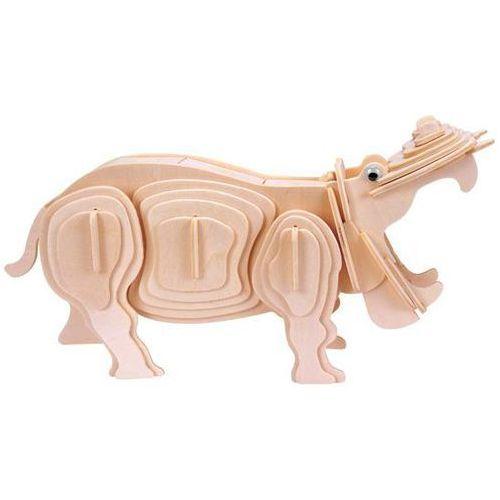 Łamigłówka drewniana Gepetto - Hipopotam (Hippopotamus) (5425004731753)