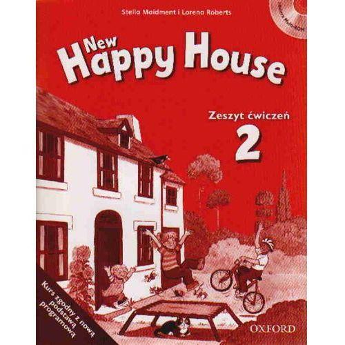 New Happy House 2 Zeszyt ćwiczeń z płytą CD (9780194732703)