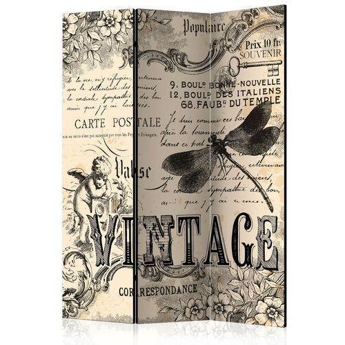Artgeist Parawan 3-częściowy - vintage correspondence [room dividers]