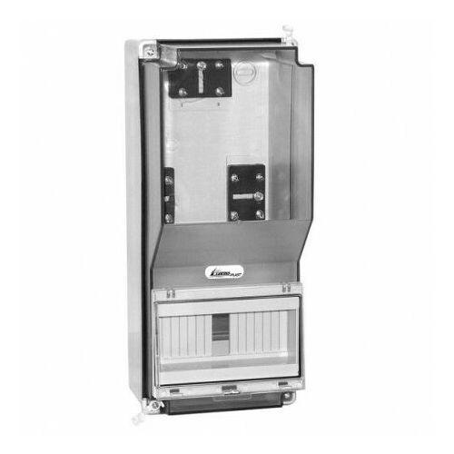 165x380x170 obudowa zestawu pomiarowego ozp-1 38.03 8758 marki Elektro-plast
