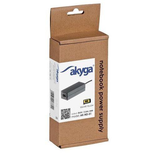 Zasilacz do laptopa Akyga 20V, 2.25A, 45W (AK-ND-51) Darmowy odbiór w 21 miastach!, AK-ND-51