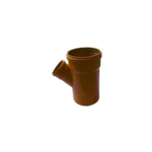 Trójnik kanalizacji zewnętrznej 200 x 110 mm/45° POLIPLAST