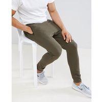 D-Struct Pique Slim Fit Joggers - Green, kolor zielony