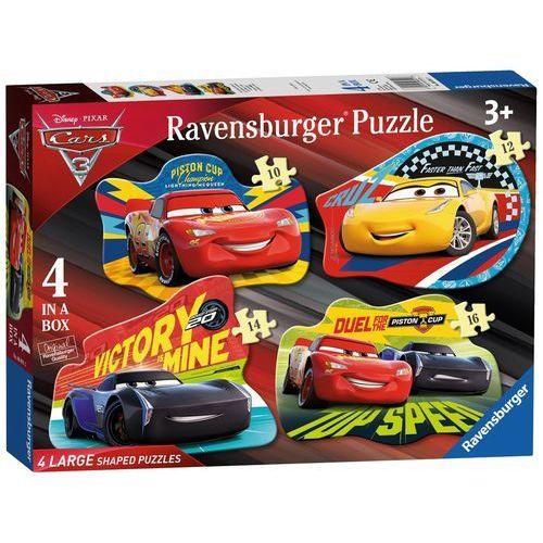 Ravensburger 4w1 puzzle podłogowe auta 3 (4005556068913)