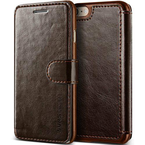 Etui VRS Design Layered Dandy iPhone 8/7 Brown (8809477689167)