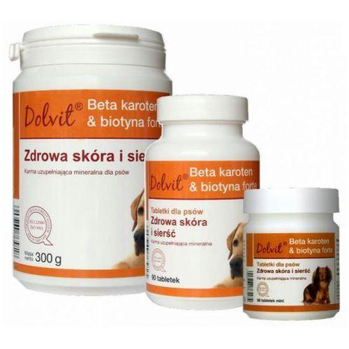 Dolfos dolvit beta karoten & biotyna forte zdrowa skóra i sierść tabletki dla psów op.90tabl-1kg