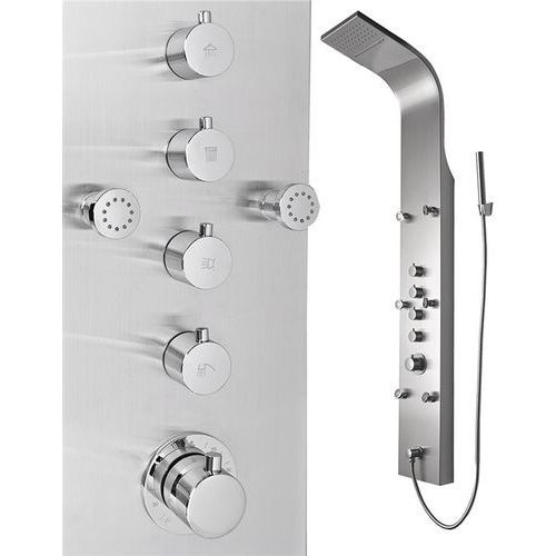 Panel prysznicowy ze stali nierdzewnej IN-8879