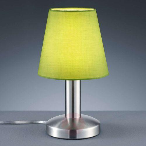 Trio leuchten Trio-leuchten mats lampa stołowa nikiel matowy, 1-punktowy - nowoczesny - obszar wewnętrzny - mats - czas dostawy: od 4-8 dni roboczych (4017807256086)
