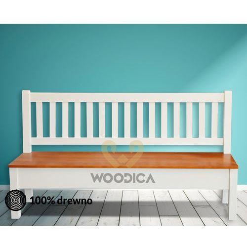 Ławka hacienda 01 [p prosta] 147x98x56 marki Woodica