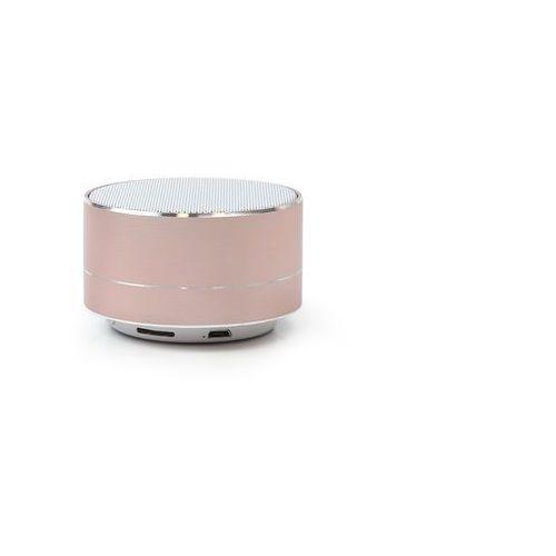 Forever Głośnik bluetooth 3w - pbs-100 z radiem i mikrofonem - różowe złoto