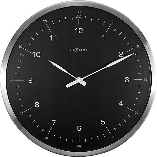 Zegar ścienny 60 Minutes czarny, 3243ZW
