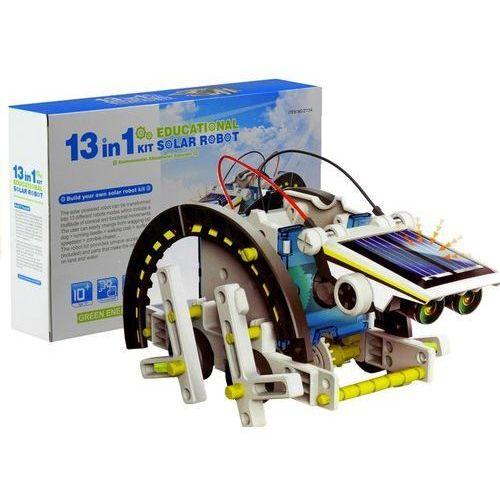 Lean toys Zestaw kreatywny roboty solarne robot 13w1