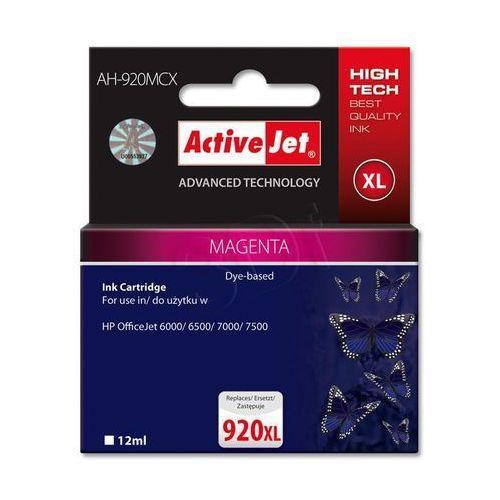 Tusz ActiveJet AH-920MCX magenta do drukarki HP - zamiennik HP 920XL CD973AE, EXPACJAHP0165