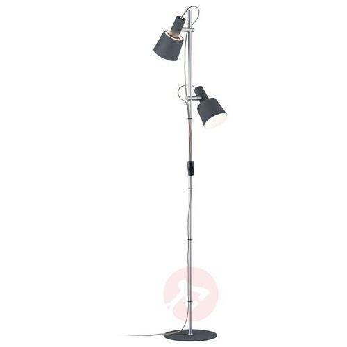 2-punktowa lampa stojąca Haldar w ładnych kolorach (4000870796900)