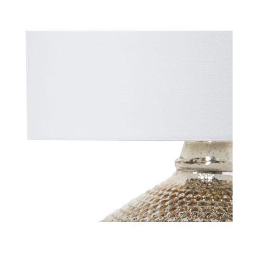 Beliani Lampa stołowa złota madon (4260586353204)