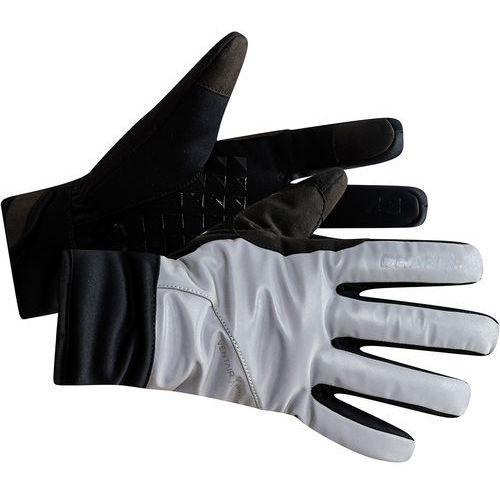 Craft siberian glow rękawiczka rowerowa, silver/black l 2019 rękawiczki zimowe