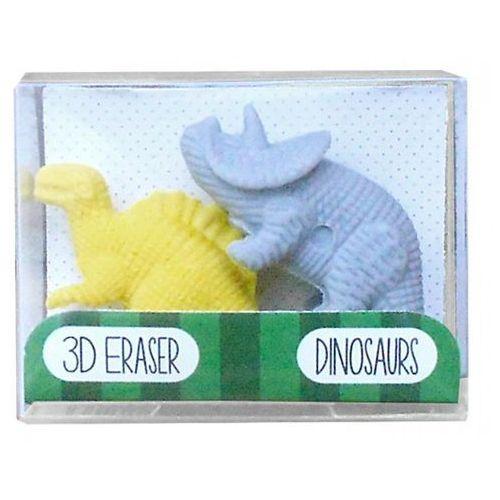 Gumki do mazania – dinozaury