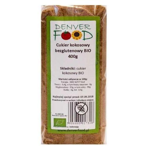 Cukier Kokosowy Bezglutenowy BIO 400 g Denver Food