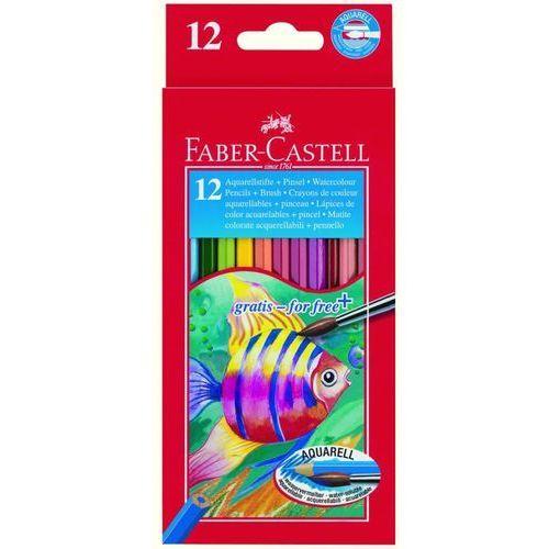 Faber-castell Kredki akwarelowe 12 kolorów
