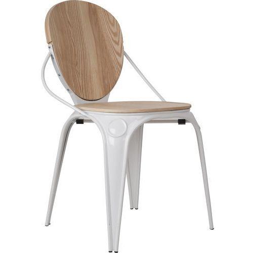 Zuiver krzesło louix naturalna biel 1100160 (8718548017078)