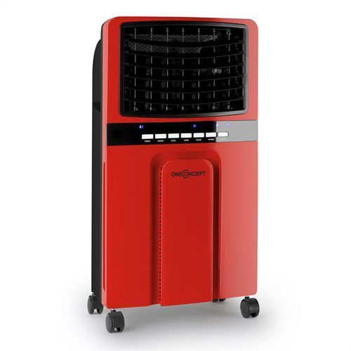 Oneconcept baltic red schładzacz powietrza wentylator 65 w 400 m³/godz. pilot (4260435919131)