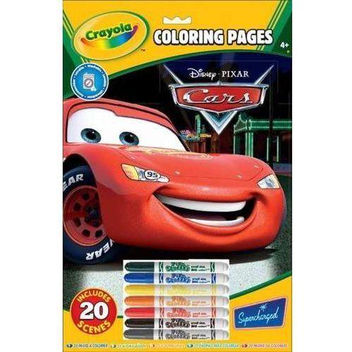 Crayola kolorowanka disney cars (5010065555198)
