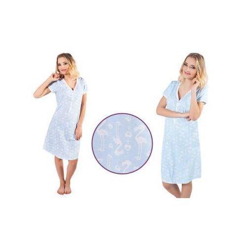 Koszula nocna ALISA: błękit